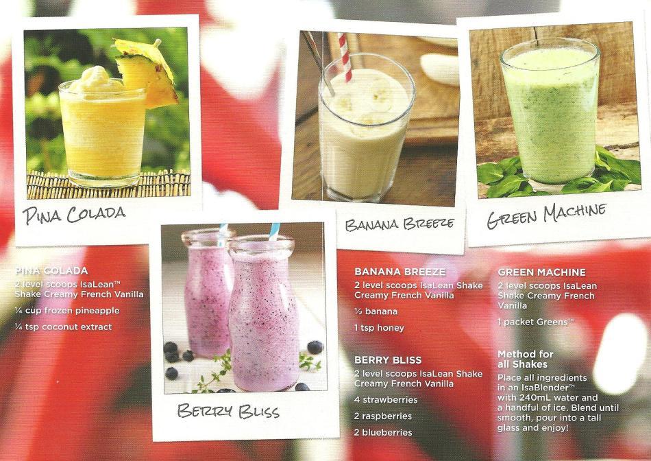 Healthy Isashakes
